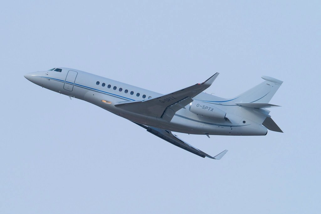 G-SPTX Dassault Falcon 7X FA7X
